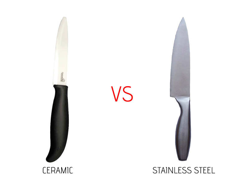 Kitchen Knives Ceramic Vs Steel