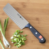 Wüsthof Classic Vegetable Nakiri Knife with Hollow Edge