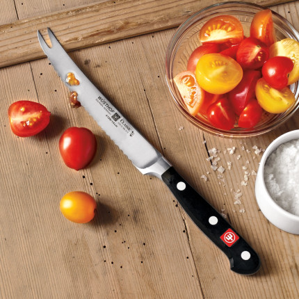 5 inch wusthof tomato knife gourmet forked tip