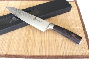 ZHEN Japanese VG-10 Damascus Dragon Gyuto Chef Knife
